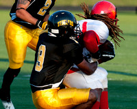 VA Steelers vs Big Red 8-24-13