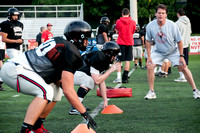 Madison Football Preseason Practice -August 22, 2013-114